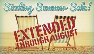 Sizzling Summer Sale!