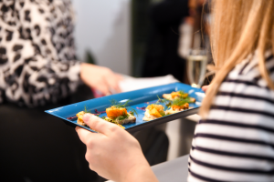 YouJuice bites at the Healthy Business Hub Christmas event 2018