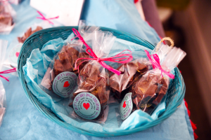 Lucy's Luscious Raw Choc at the Healthy Business Hub Christmas event 2018
