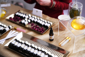 Essential Oils at the Healthy Business Hub Christmas event 2018
