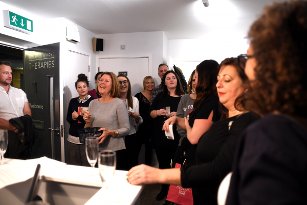 Hubbers at the Healthy Business Hub Christmas event 2018