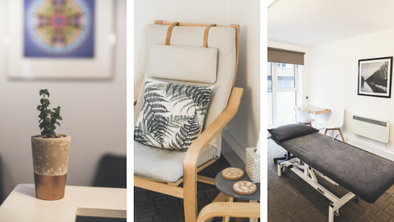 Our Therapy Rooms at Brighton and Hove Therapies